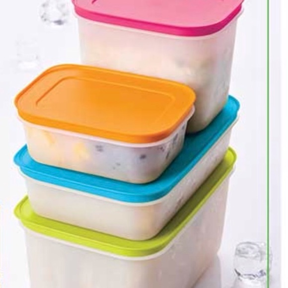 Tupperware Freeze it Containers Set of 4